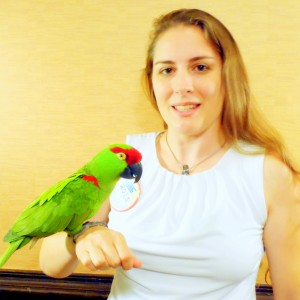 Connie & Thick-billed Parrot